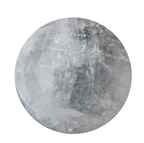 Rock Quartz Crystal Ball Scrying Gazing Fortune Telling Sphere 55mm 235g CB2